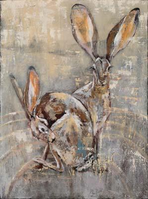 Kathy Parks Rabbits Art