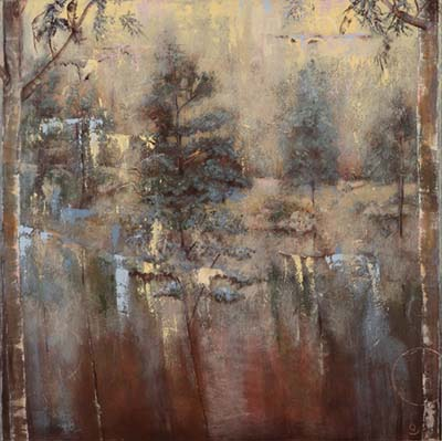 Kathy Parks forest art