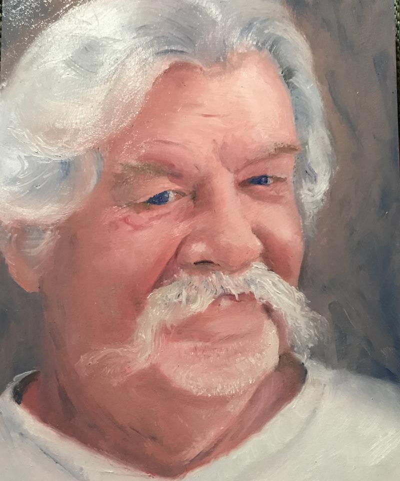 Sergio portrait painting