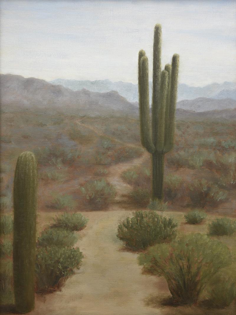 Cactus painting art